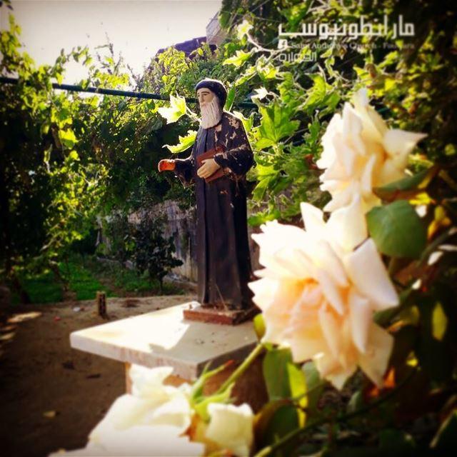 haveablessedday with @saintanthony fouwara chouf lebanon statue ...