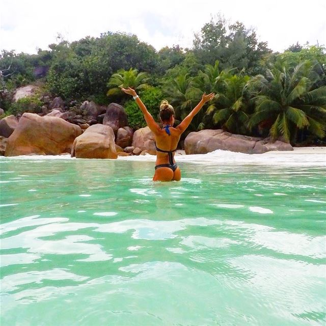 I've been called lucky all my  life and it used to drive me nuts 🥜 but... (Anse Source d'Argent, La Digue Island, Seychelles)