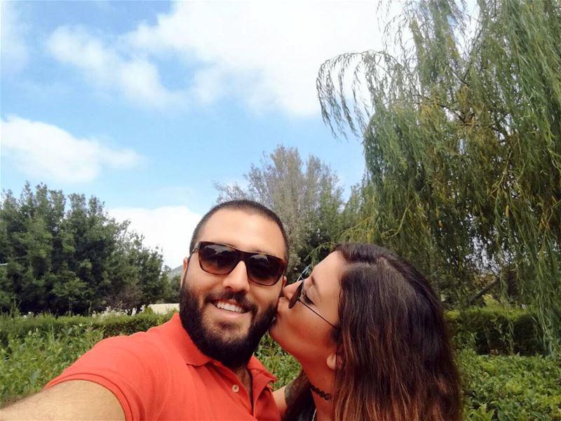 A Kiss to the love of my life. 💋 MonTrésor Loveyou SaturdayMood ... (الناقورة / Al Naqoura)