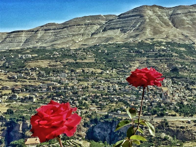 A piece of heaven on earth 🌏 .... lebanon lebanese lebanon_hdr ... (Bcharré, Liban-Nord, Lebanon)
