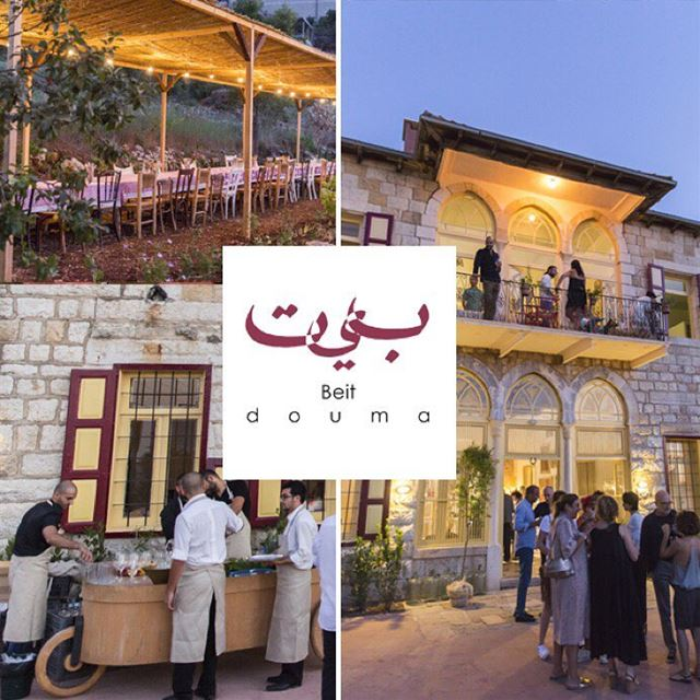 Holding private and corporate events at Beit Douma makes them that much...