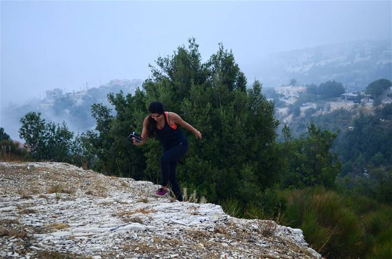 Trying to run away from monday like.... 🏃♀️ 📸: The one and only @alexand (Bchaalé, Liban-Nord, Lebanon)