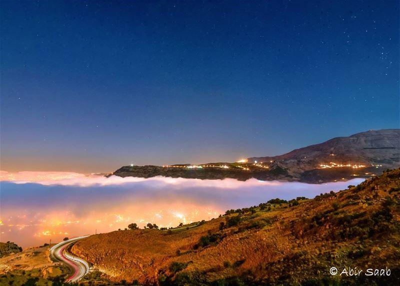 🇱🇧🇱🇧 LB 🇱🇧🇱🇧 lebanon zaarour zaarourmountains fog foggy ... (Zaarour Club)