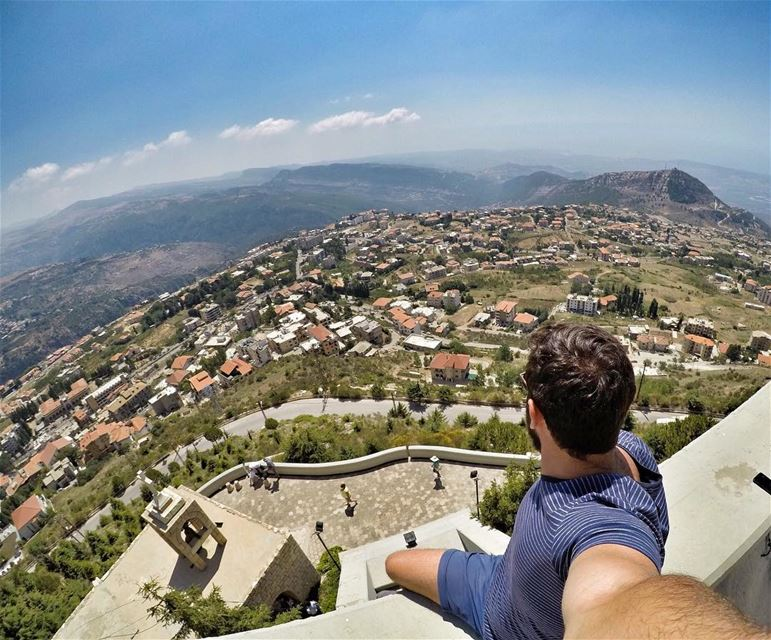 Lebanon? The Mountains, the Villages, the Old houses, the Red Bricks, the... (Saydet El Hosn - Ehden)