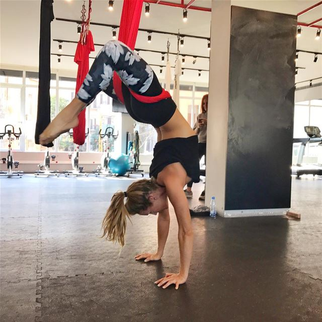 AERIAL YOGA classes this week ❣️Today Tuesday 6 pm in Downtown @uenergygym... (U Energy Beirut)