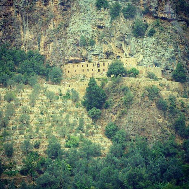 Mar Lichaa Monastry, Qadisha Valley, Bsharri, Lebanon 🌲🌲🌲...🌲🌲🌲� (Bsharri, Lebanon)