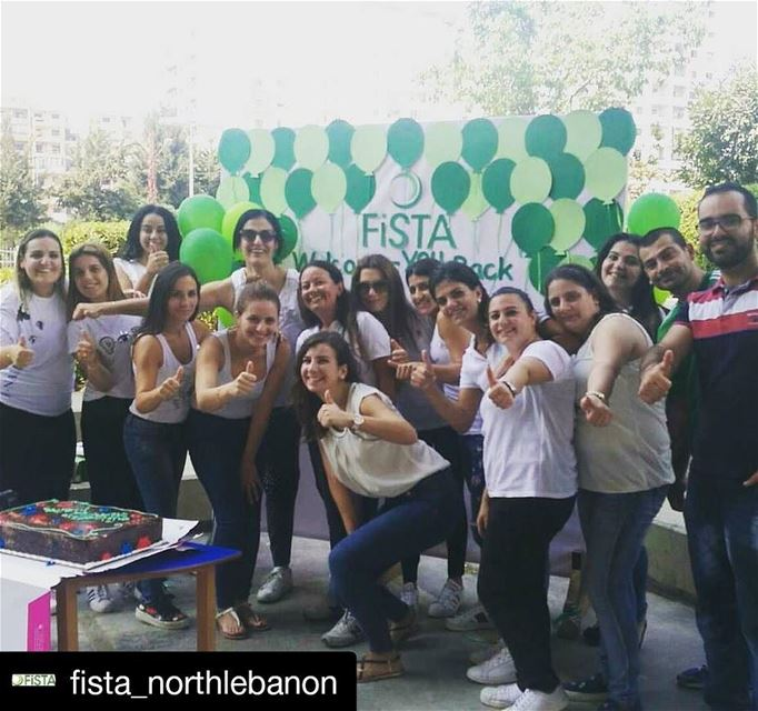 "Repost @fista_northlebanon (@get_repost)・・・""Let today be the start for... (First Step Together Association FISTA)"