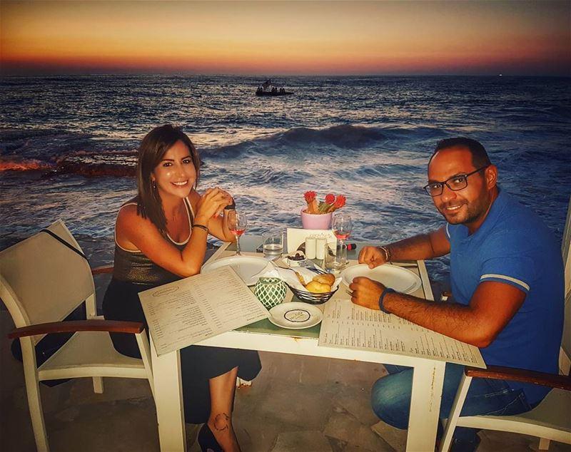 👫 provincia @byblossud....... sunset sunsetcolors meetlebanon... (Provincia Byblos Sud Restaurant)