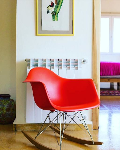 Amphibious chair. Book your stay at Beit El Qamar: BeitElQamar |...
