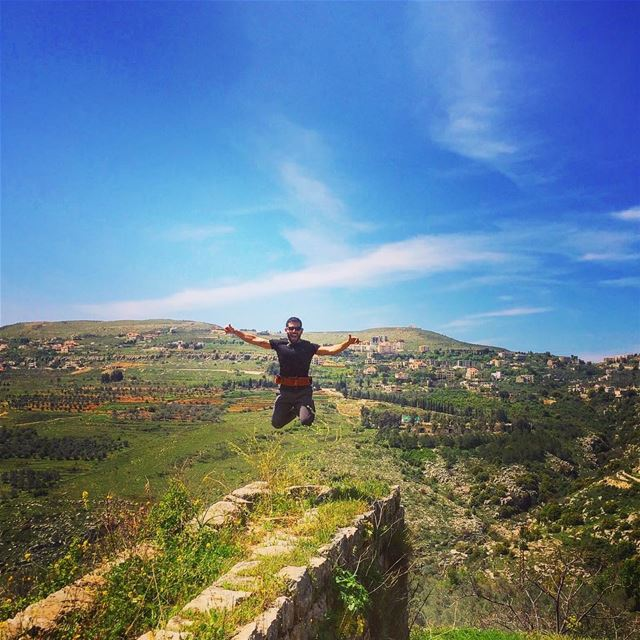 Don't join dangerous cults : Practice safe sects !  throwback  tbspring ... (El-Mukhtarah, Mont-Liban, Lebanon)