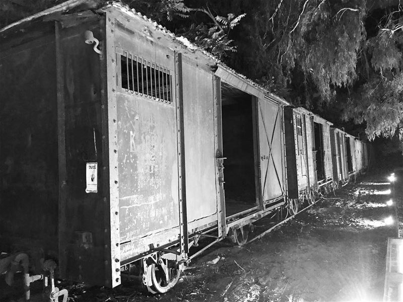 ~..When the Train is Canceled..~ 🚂 oldbeirutlebanon oldlebanontrain ... (Somewhere in Lebanon)