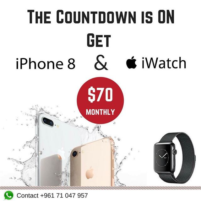 The countdown is finally ON for the brand new iPhone 8 and iPhone 8+. Only...