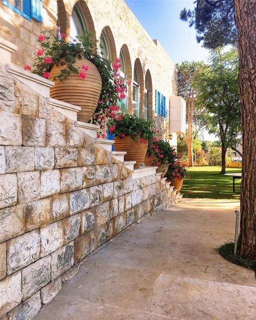 lebanon beirut architecture instagood wanderlust travelgram ... (Beit Meri, Mont-Liban, Lebanon)