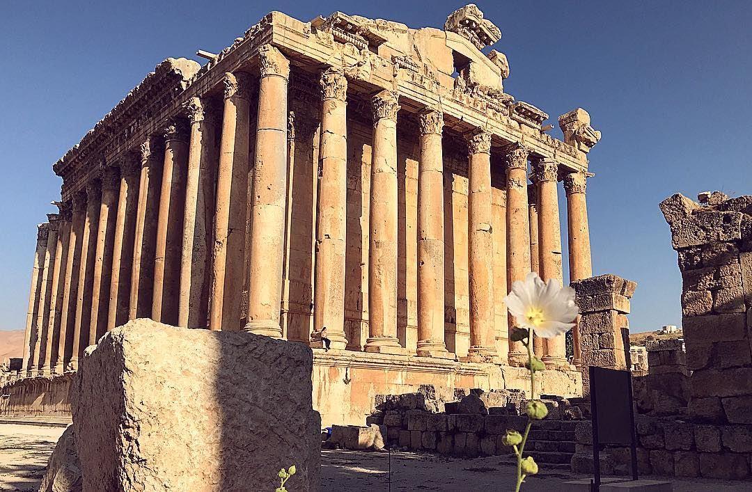 templeofjupiter romanheliopolis zeus baalbek lebanon lebanonshots ... (Baalbek , Roman Temple , Lebanon)