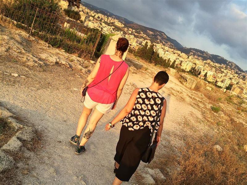 Walking in Byblos friends friendship byblos jbeil livelovebyblos ...