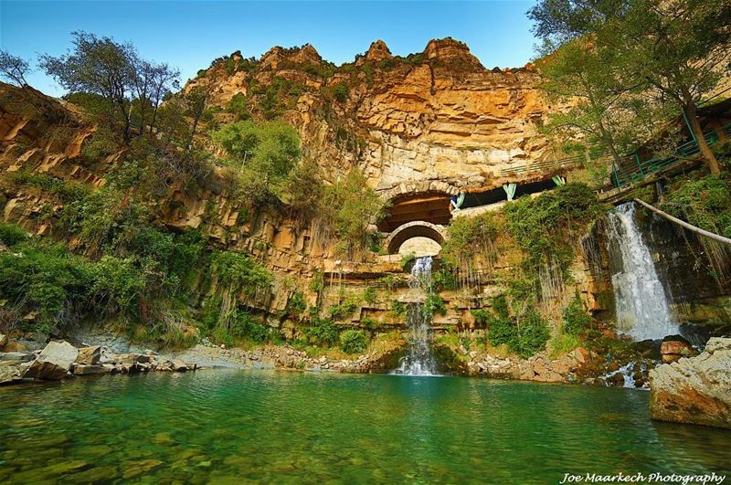 Afqa waterfall!  afqa  waterfall  lebanon  nature  igers  photography ... (Afqa)