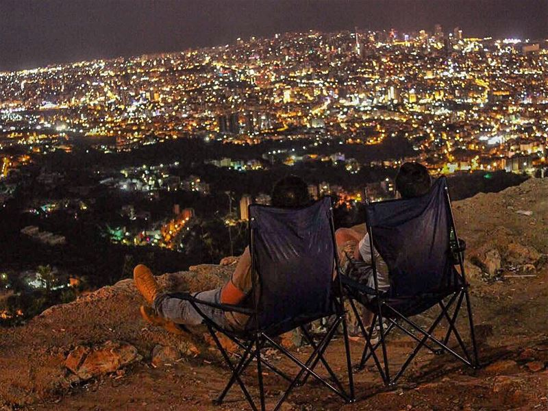 us above the  city 🌃 @elie_aboujaoude90 (Broummâna, Mont-Liban, Lebanon)