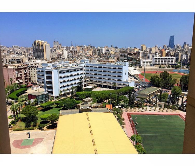 Back to School..The Beirut Arab university was built and expanded on... (Beirut Arab University)