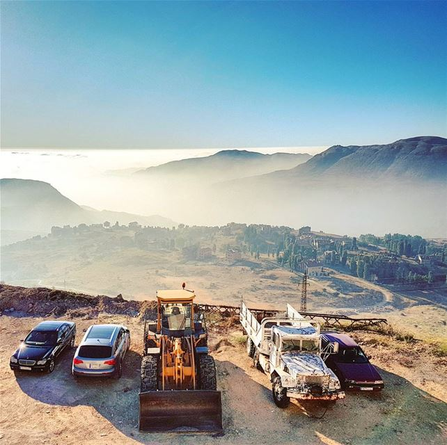 Don't it always seem to go... pavedparadiseandputupaparkinglot bigyellow... (Faraya, Mont-Liban, Lebanon)