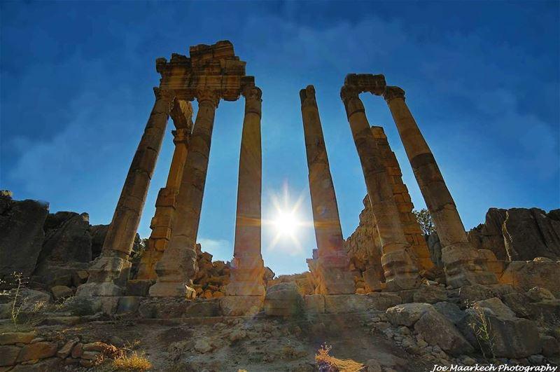 Faqra ruins! faqra faqraruins lebanon keseruan ruins igers ...