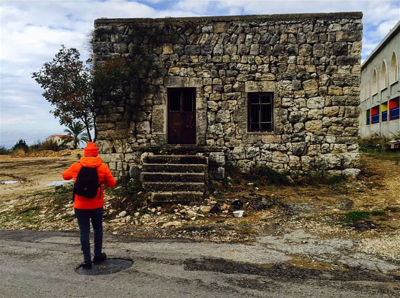 tb december north lebanon old house nature tree hiking amazing...