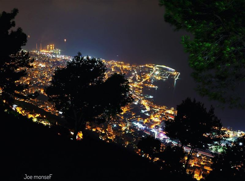 jounieh livelovejounieh night sea nature light lebanon keserwan ...
