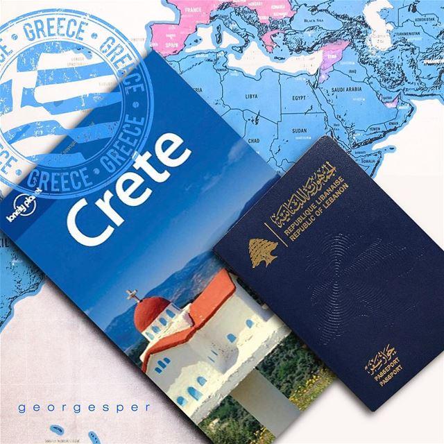 A new journey begins 💙 Crete Island, Greece 🇬🇷..... wu_greece ... (Heraklion, Greece)