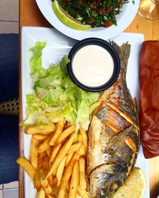 Fishy friday 🐟 lebanesebucketlisters fish ... (ة t-marbouta)