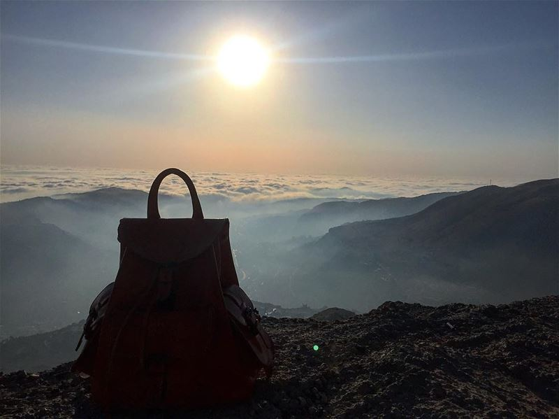 Own only what you can carry with you; Let your memory be your Travel BAG 🎒 (Faraya, Mont-Liban, Lebanon)