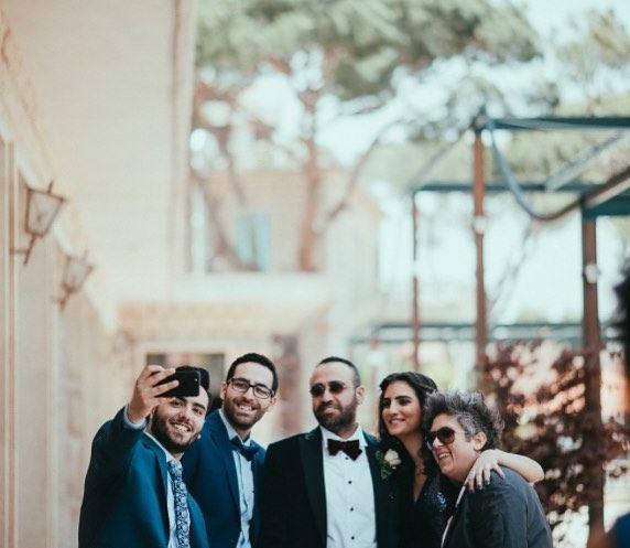 tb selfie cousins love weddingday beautiful lebanon lebanese ... (Broummâna, Mont-Liban, Lebanon)