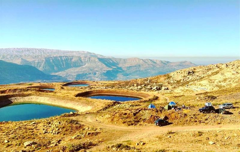 Welcome to our campfire, where friends and marshmallows get toasted at the... (Akoura, Mont-Liban, Lebanon)