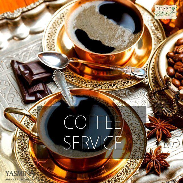 Vera on coffee service etiquette with @gracytta in @yasminadotcomخبيرة ا (Beirut, Lebanon)