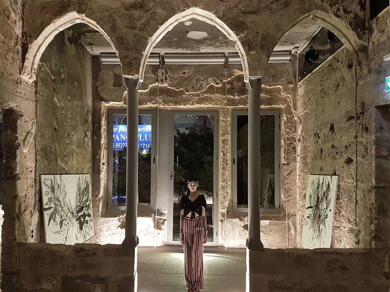 ~ Make Art Not War ~... healinglebanon abandoned abandonedplaces ... (Beit Beirut)