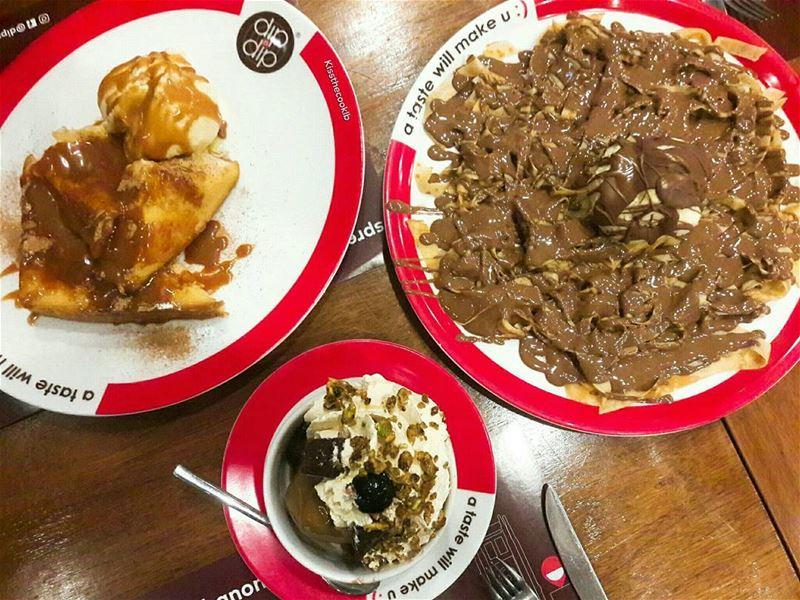 Sweetness overload 👌 kissthecooklb dipanddip foodlover foodbeast ... (Dip N Dip Tripoli)