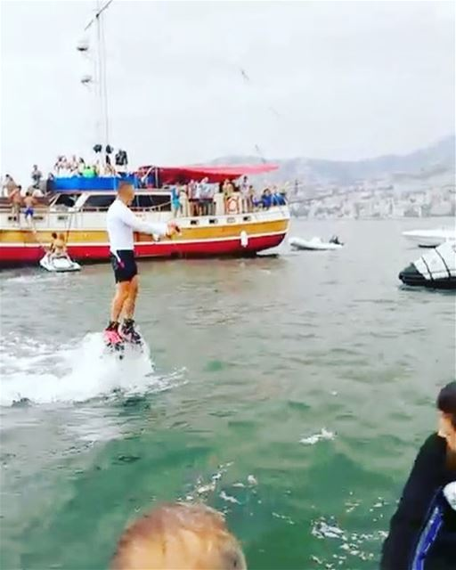 Aspire to Inspire before u Expire  flyboard  flyboardlebanon ... (Joünié)