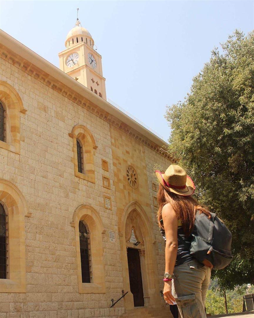 historicalchurch douma lebanontimes hikergirl insta_lebanon ... (Douma, Liban-Nord, Lebanon)