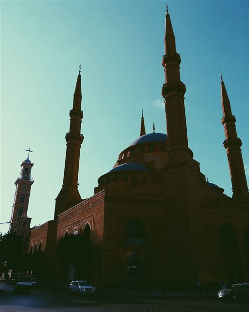 lebanon beirut mosque church photooftheday picoftheday instaphoto insta... (Beirut, Lebanon)