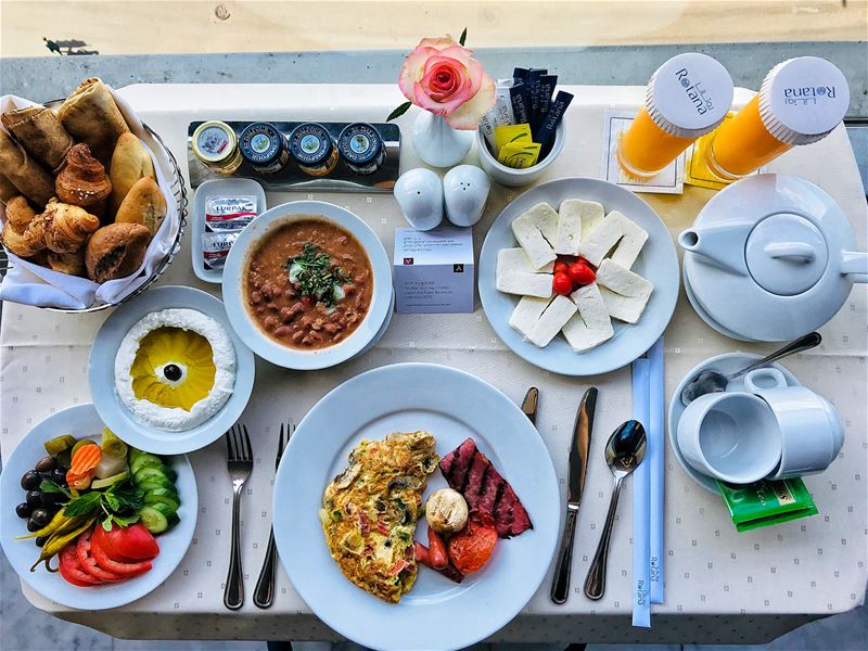 The best part of staying in a hotel is the breakfast that you can have the... (Arjaan By Rotana Beirut)