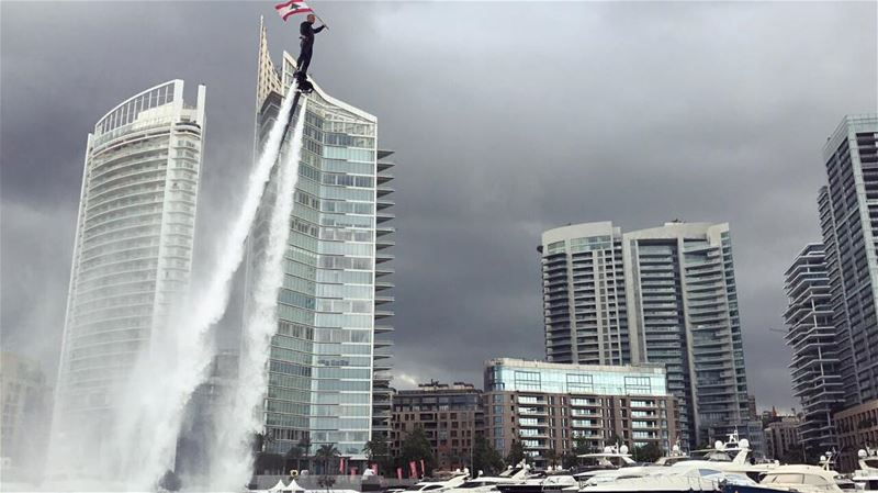 I ❤️ Beirut flyboard flyboardlebanon richardkarnaby ilovebeirut ... (Beirut, Lebanon)