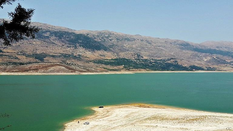 lebanon bekaa qaraoun water lake livelovelebanon whatsuplebanon ...
