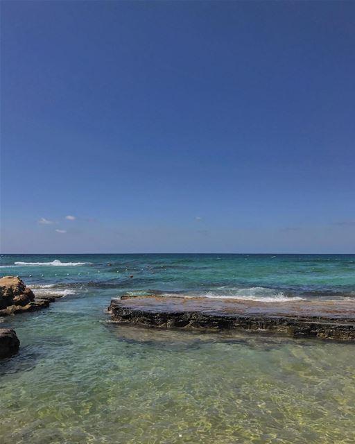 More beach weekends☀️💙😄• beiruting beirut lebanon beirutcity ... (Jieh الجية)