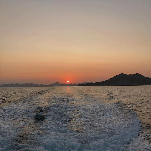 [Sunset in Fethiye, Turkey] sunset turkey travel travelphotography ... (Fethiye)