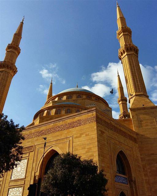 lebanon beirut mosque photooftheday picoftheday instaphoto insta... (مسجد محمد الأمين)