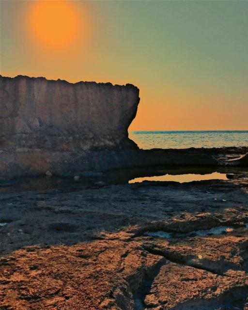 PhoenicianWall Wall Batroun Port Mediterranean MediterraneanLife ... (Phoenicien Wall)
