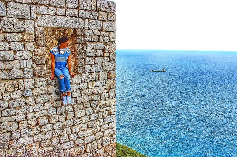 🖼🛳⚓️🌊 Saydetelnouriyeh Nouriyeh Orthodox Monastery Mediterrenean Sea... (Saydet El Nourieh)