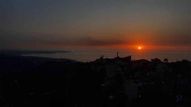 Sunsets and... (Harîssa, Mont-Liban, Lebanon)