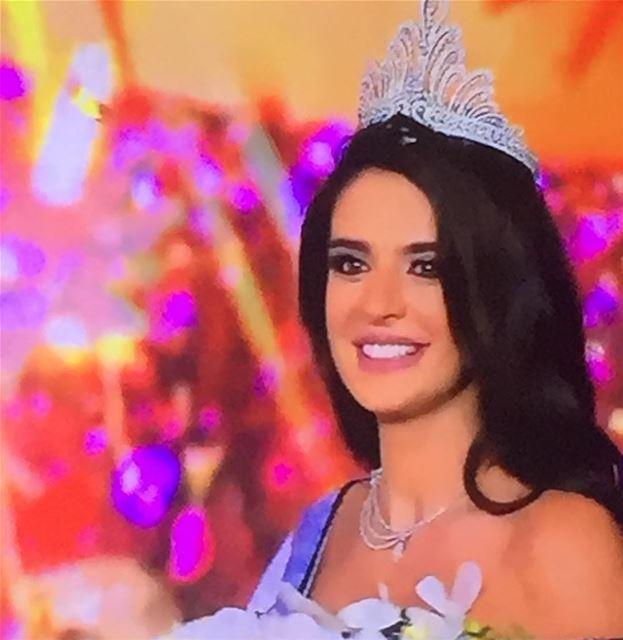 Congratulations Perla Helou, crowned Miss Lebanon 2017 👑🎉 🇱🇧 ...