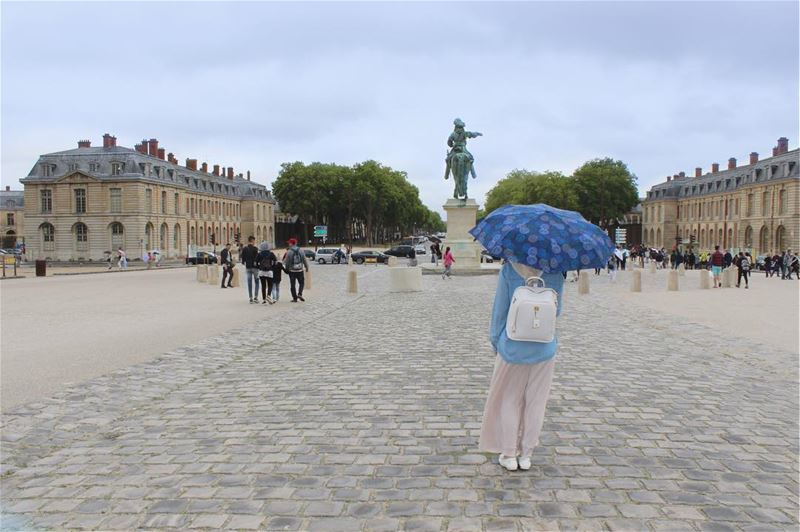 A feeling of loneliness struck me as a lightning the past eid ⚡️⚡️. This... (Versailles, France)