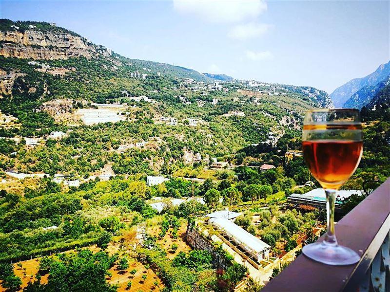 Wine me up & watch me go 🍷 (Nahr Ibrahim, Mont-Liban, Lebanon)