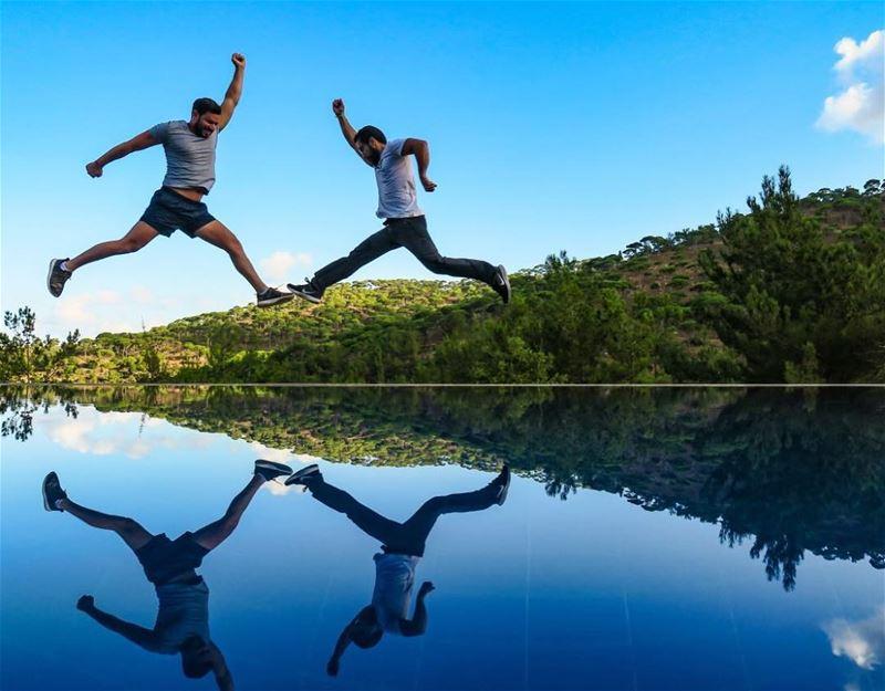 When @jubranelias says Jump, We Jump 👻🤙🏻Big Big Big Thank You to @bluej (Blue Jay Valley)
